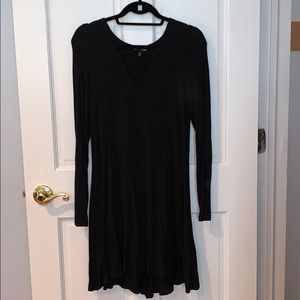 Express Criss Cross Tshirt Dress